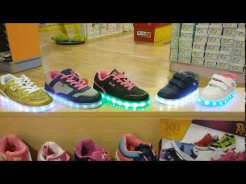Zapatillas Con Xti Programables Youtube Salvador Kids Luces Artesano wvvErq
