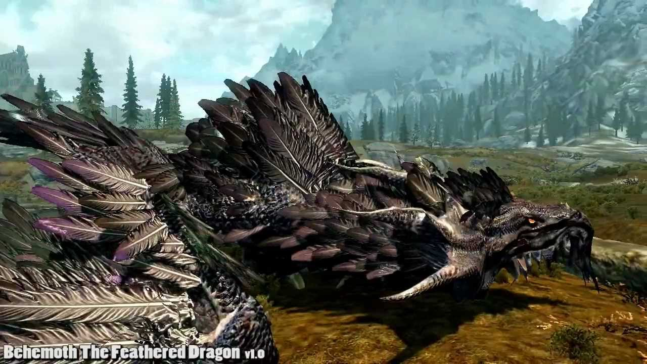 Are Mod You Dragon Skyrim