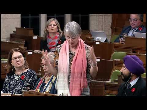Question to the Minister of Employment, Workforce Development and Labour - November 3, 2017