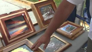 Daytona Beach Farmers Market - City Island Park - 17 August 2013 (the Boys & Me Woodwork)