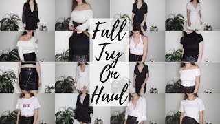 HUGE FALL TRY ON HAUL 2017 | Brianna White