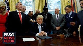 After recent rift, are evangelical Christians still behind Trump?