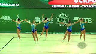 Germany (GER) - 2018 Aerobic Worlds, Guimaraes (POR) - Group Qualifications