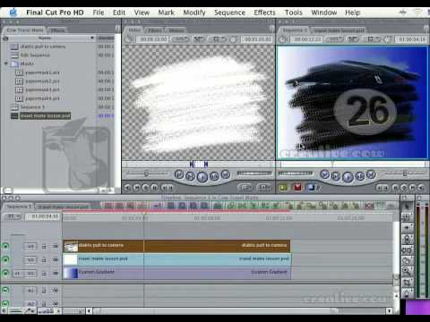 Travel Mattes In FCP: Part One, The Basics