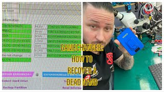 HOW TO RECOVER BOTTOM-LAYER (SYSCFG) FŔOM A DEAD NAND WITHOUT GSX-SERVICE - RECOVER WiFi- AND BT-MAC