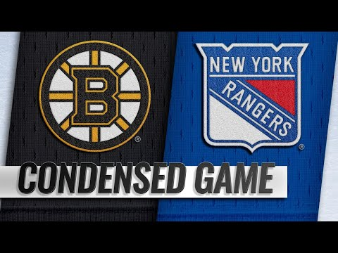 02/06/19 Condensed Game: Bruins @ Rangers