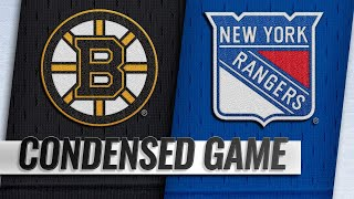 02/06/19 Condensed Game: Bruins @ Rangers