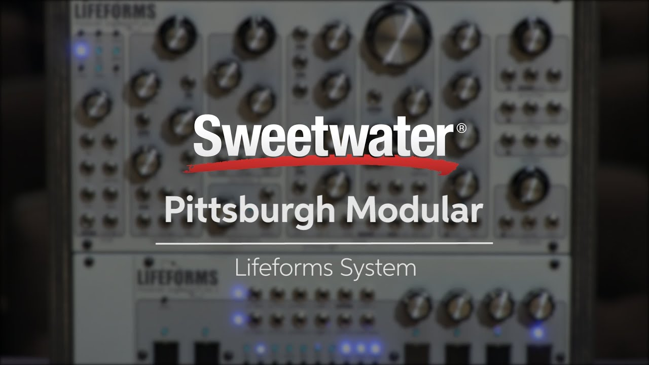 pittsburgh modular lifeforms system 201 modular synthesizer demo by sweetwater youtube. Black Bedroom Furniture Sets. Home Design Ideas