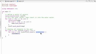 2d Vector In Cpp Constructor