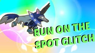ANIMAL JAM| How to run on the spot