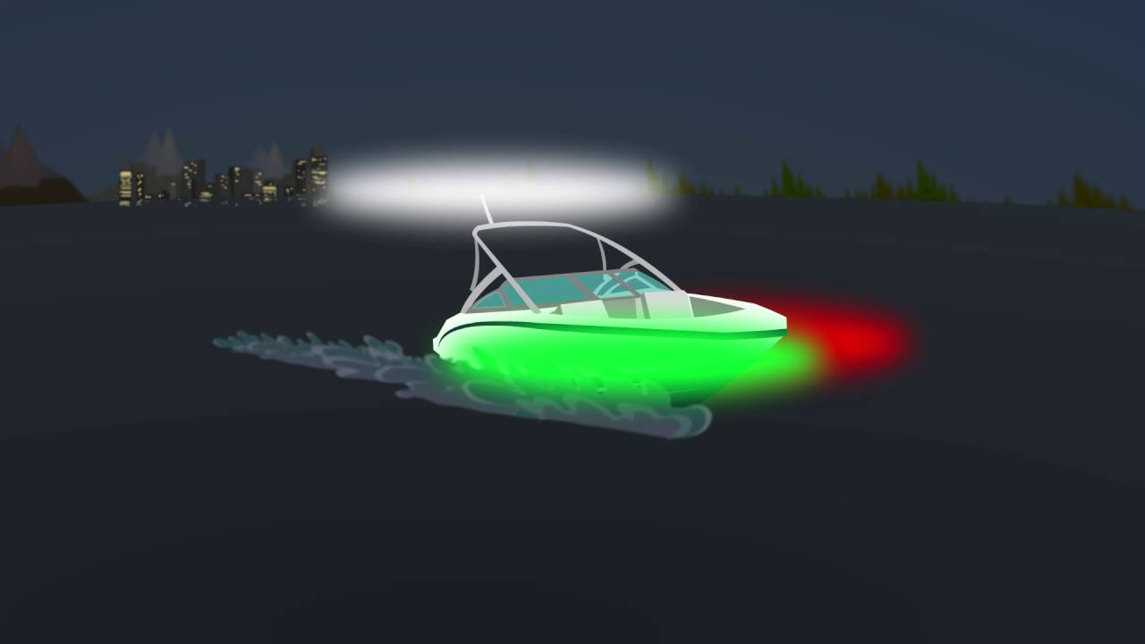 Navigation lights on boats - Rules & Regulations | ACE BOATER®