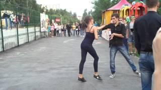Танец Новосибирск набережная