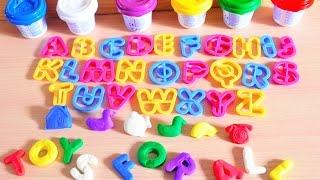 E learning   Playdough   Play doh   Learn Colors   Alphabet