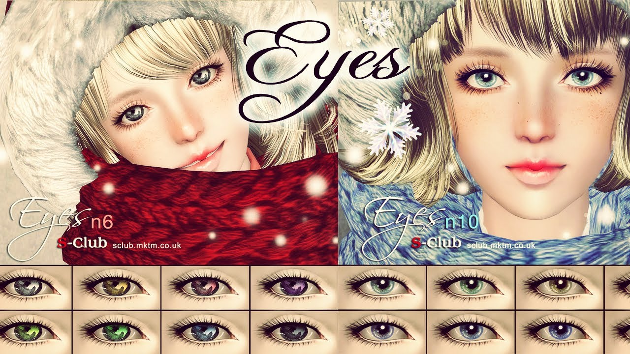 ★ Download EYES! - Pack Sims 3