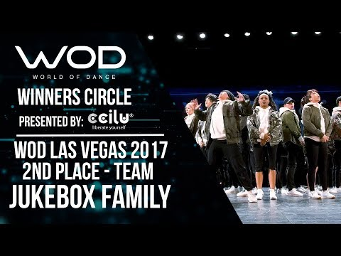 Jukebox Family | 2nd Place Team | Winners Circle | World of Dance Las Vegas 2017 | #WODLV17