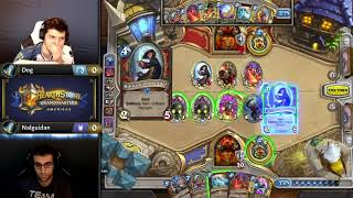 Dog vs Nalguidan - Hearthstone Grandmasters Americas - Week 1 Day 3