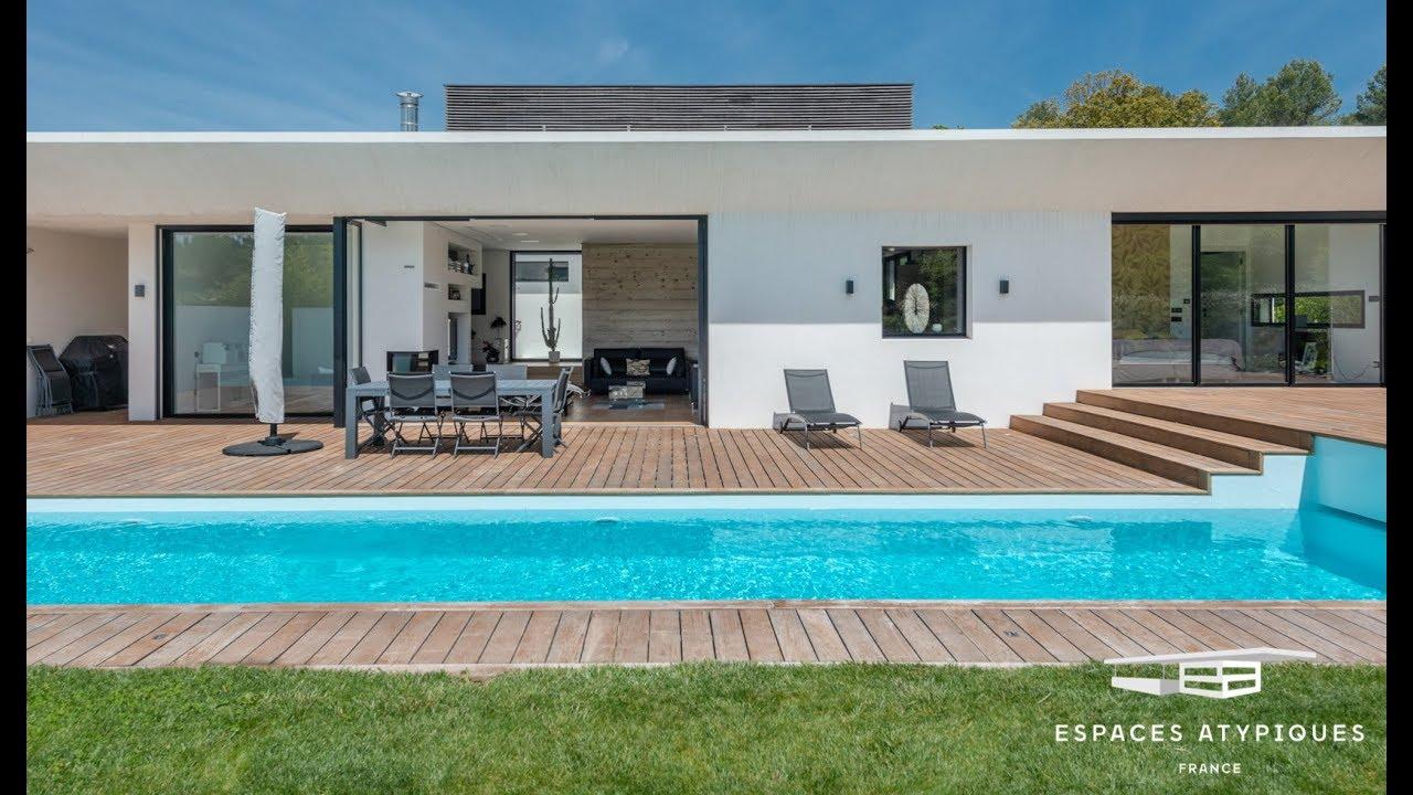 Espace Atypique Aix En Provence villa contemporaine californienne au bouc-bel-air - espaces atypiques