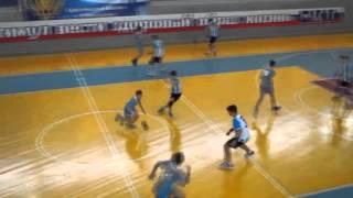 Полуфинал первенства России по гандболу. Юноши 2003 г.р. Саратовская область - Челябинск