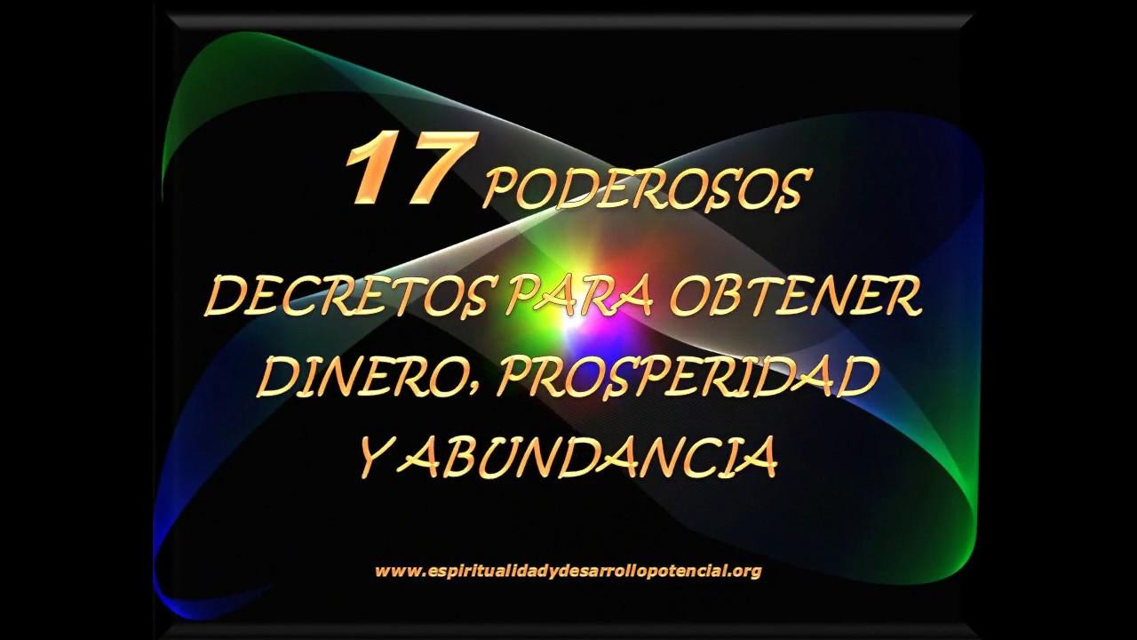 17 poderosos decretos afirmaciones positivas para