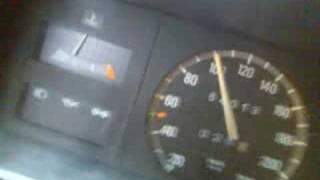 Opel Kadett 1.6 Speedometer (rainy)