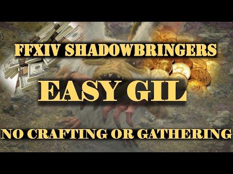 FINAL FANTASY 14: Tips & Tricks For Making Gil (No Crafting or Gathering)
