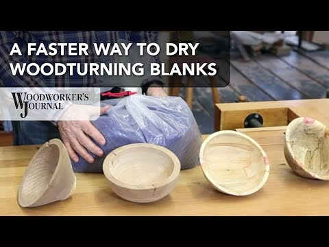 How to Dry Woodturning Blanks Faster with Desiccant