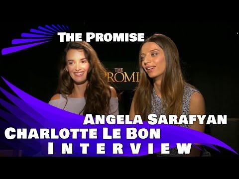THE PROMISE  Charlotte LeBon  and Angela Sarafyan