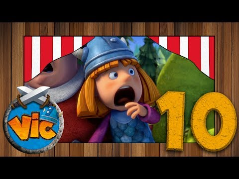 🌊🌊#10 Beware of the wolf  - Vic the viking - FULL Episodes 🌊🌊