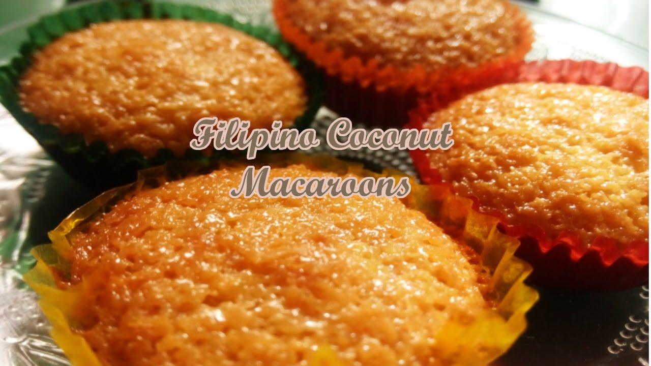 Filipino Coconut Macaroons Youtube