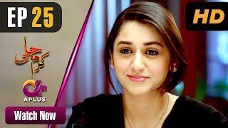 Karam Jali - Episode 25 | Aplus Dramas | Daniya, Humayun Ashraf | Pakistani Drama