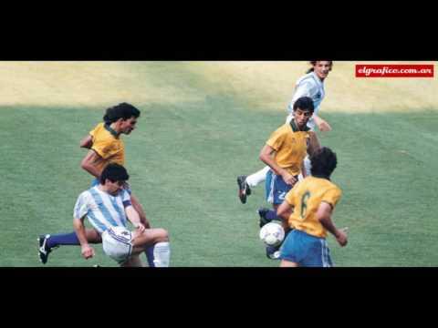 Maradona vs Brasil Italia 90