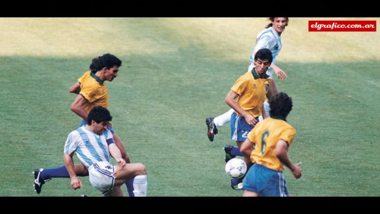 Argentina Vs Brasil: Maradona Vs Brasil Italia 90