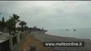 La spiaggia a Melito di Porto Salvo