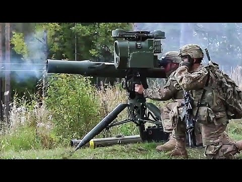 US Military Firing the Extremely Powerful TOW Missile