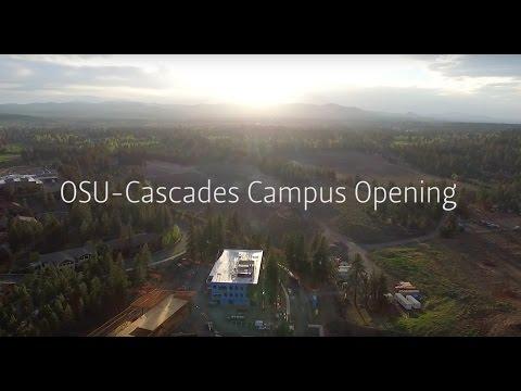 President Ray on OSU-Cascades Campus Opening