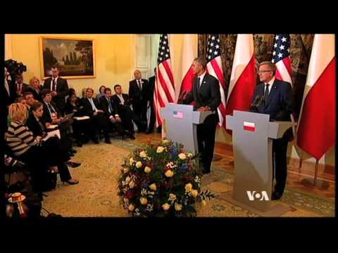 Obama Stresses US Commitment to European Allies