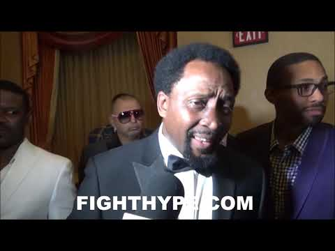 "THOMAS HEARNS EXPLAINS WHY HE'S ""ALL FOR"" FLOYD MAYWEATHER AGAINST CONOR MCGREGOR"