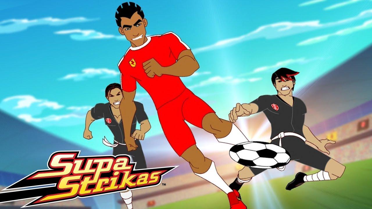 Supa Strikas | Linda Partida | Desenhos Animados de Futebol em Português