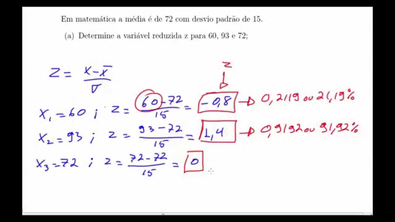 Formula para probabilidade