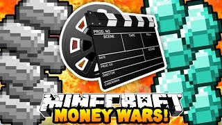 "Minecraft MONEY WARS ""THE MOVIE!"" #5 with PrestonPlayz, MrWoofless & Pete"