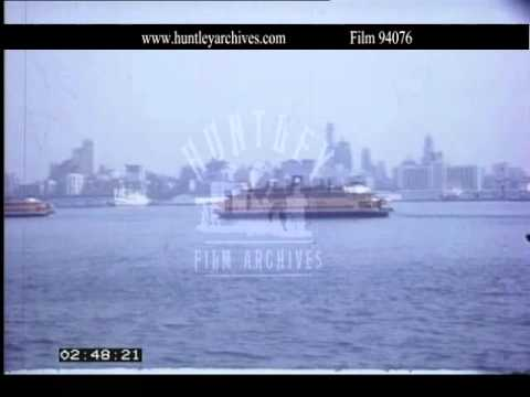 Good amateur movie of New York City, 1967.  Archive film 94076
