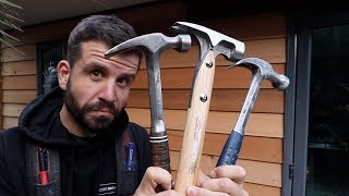 What Hammer Does a Carpenter Use? (Every Hammer Ive Owned) YouTube Videos