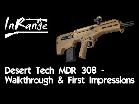 Desert Tech MDR 308 - Walkthrough & Livefire