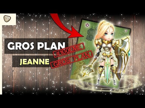 Gros Plan Jeanne - Summoners War