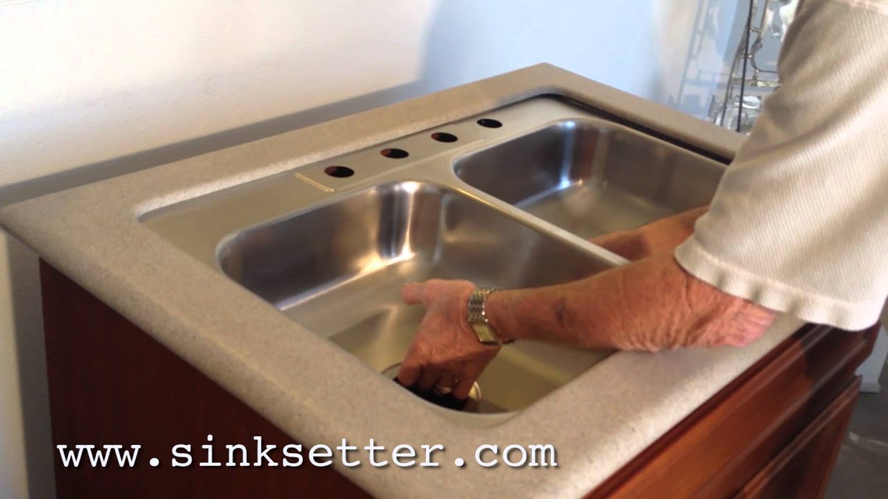 Granite Undermount Kitchen Sink How To Repair A Granite Undermount Sink With The Sinksetter Hd