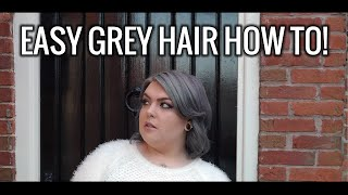 How to dye your hair grey / gray! Plus tips on colour upkeep! // Sugar, Darling?