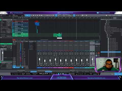 Trabajemos una Producción Completa de Rap en vivo Episodio #3