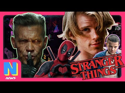 'Stranger Things' Season 3 80's Cast Lineup Is AMAZING, Deadpool 2's Cable Getting Multi-Movie Arc