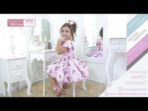 347bc99e7e Vestido infantil festa das mínis bonecas Lol surprise - smart