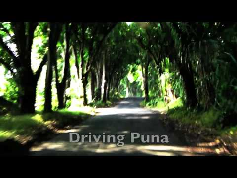 Big Island Hawaii. Part 39. Driving Puna.